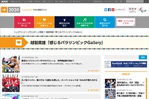 連載 NHK2020特設サイト「感じるパラリンピックギャラリー」