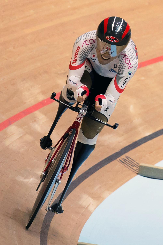 藤田征樹選手の走り=2016アジアパラサイクリング自転車競技大会(撮影:越智貴雄)
