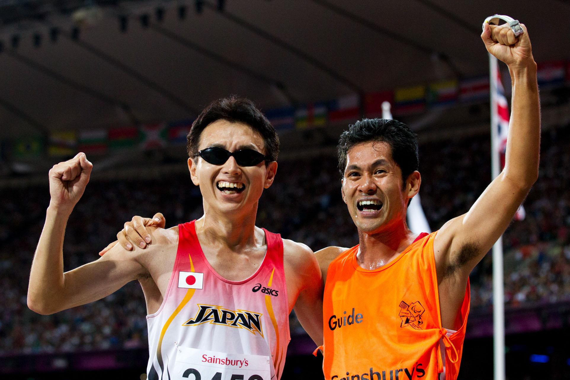 ロンドン大会5000mで銅メダルを獲得した和田(撮影:越智貴雄)