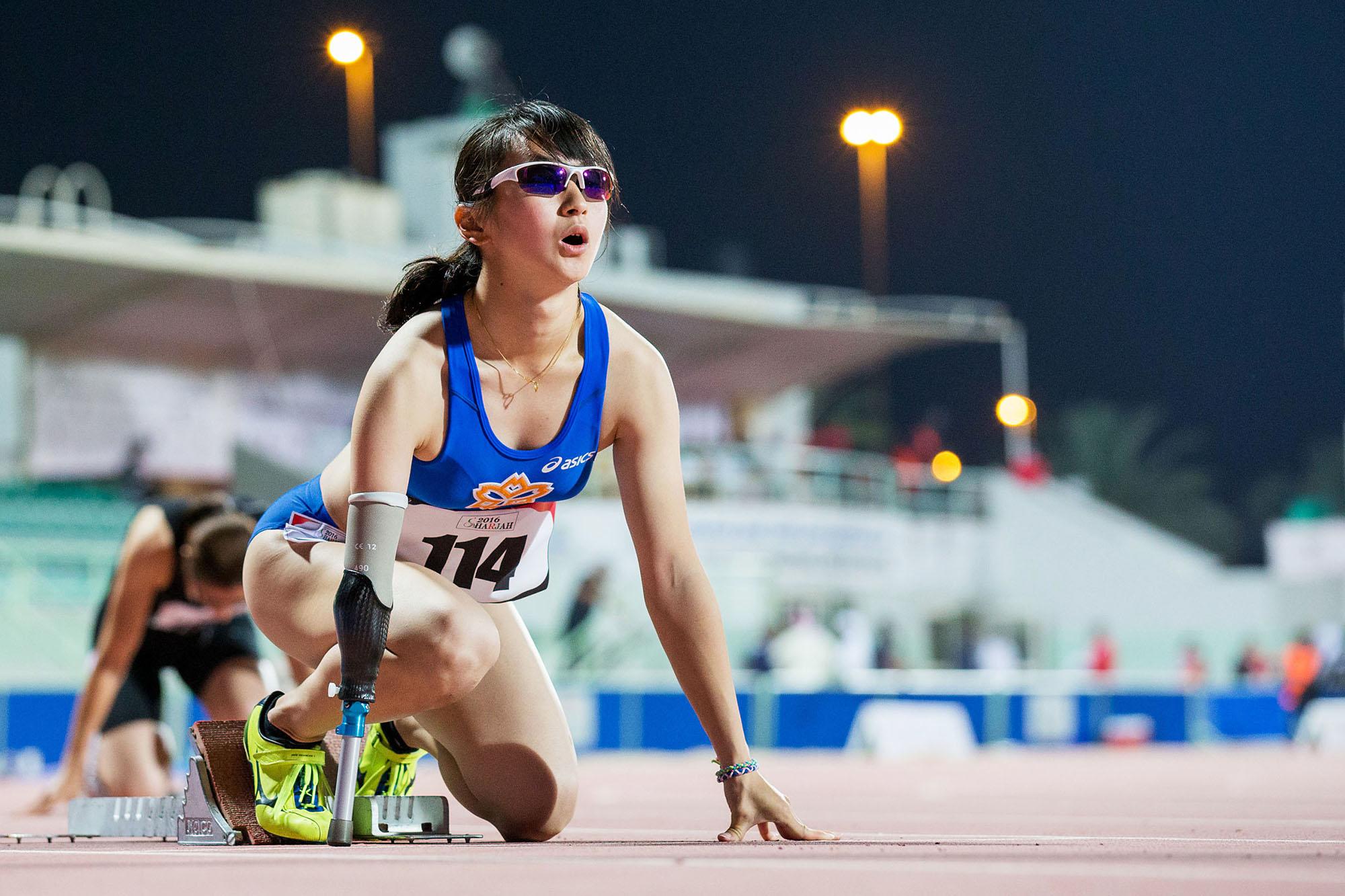 リオでは、陸上400mで金メダルを狙う(撮影:越智貴雄)