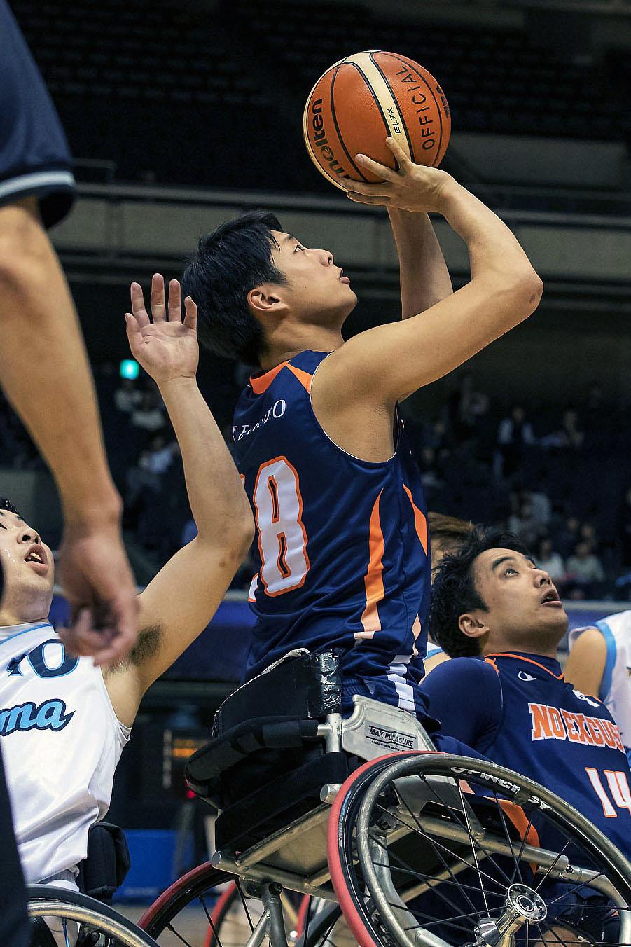 日本選手権で積極的にゴールに向かう姿を見せた森谷(撮影:越智貴雄)