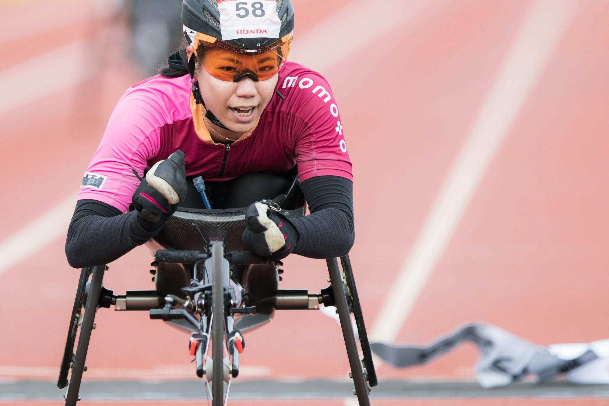 車椅子 マラソン 大分